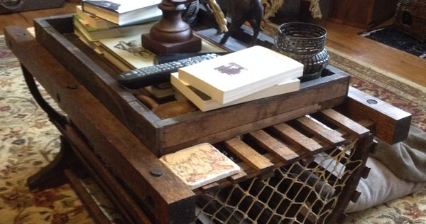 Lobster Trap Coffee Table Traps Pinterest