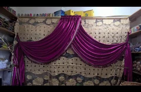 طريقة خياطة ستارة على شكل كاش ريدو How To Sew Curtains Youtube Home Decor Curtains Decor