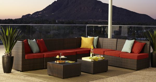 Ciudad Outdoor Furniture from Pier 1~ This Would Make Quite A Backyard