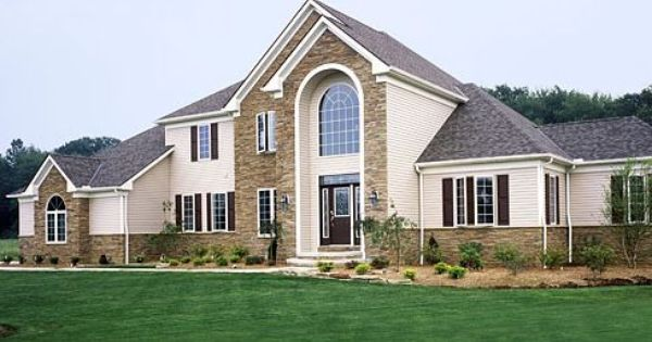 Stone faced house must haves for my future dream home for Stone faced houses