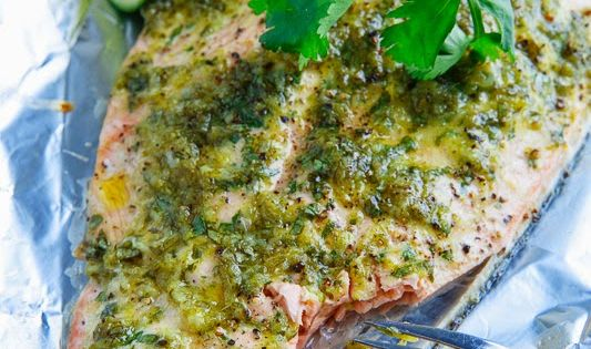 Cilantro and Lime Salmon by closetcooking Salmon Cilantro Lime Healthy recipe food
