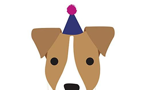 Jack Russell Birthday Card By Heather Alstead Amazon Co Uk Office Products Birthday Cards Jack Russell Alstead