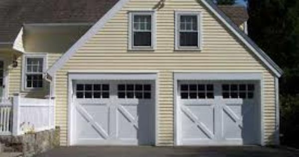 Farm house style garage doors exteriors pinterest for Farm style garage doors