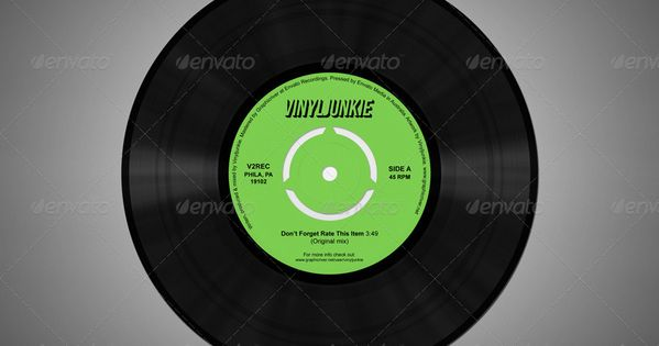 Ad Realistic Vinyl Records With Inner Sleeves Graphicriver Buy Realistic Vinyl Records With Inner Sleeves By Vinyljunkie