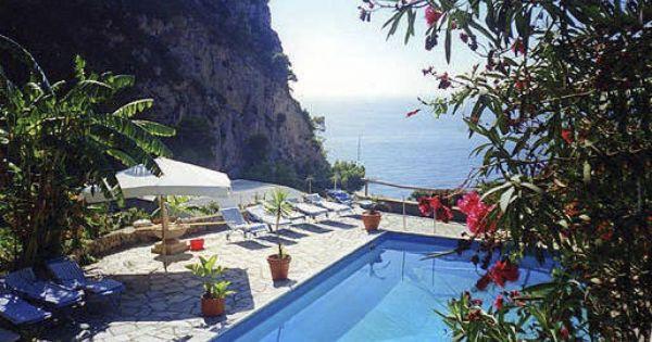 Al Tirrenia Roberts Bed Breakfast Capri With Images