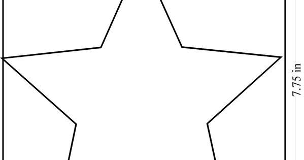 Big Star Template Kentbaby | crafts i like | Pinterest ...