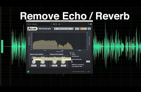 Remove Echo And Reverb From Dialogue Audio Music Mixing Audio Dj Systems