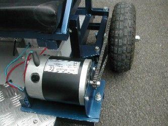 Go Kart Building, Photos of an Electric Go Kart for Kids