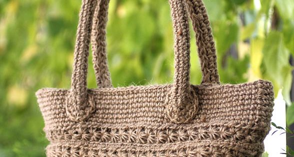 Star Stitch Tote - Free Crochet Pattern Crochet star ...