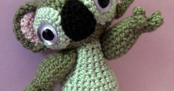 Amigurumi pattern Monty the Koala - INSTANT DOWNLOAD ...