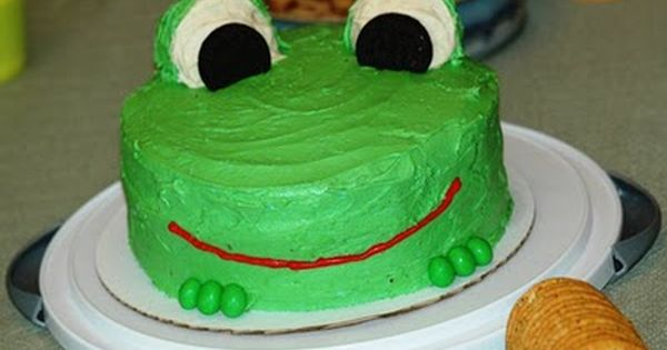 Outstanding Party Mode Frog Cakes Frog Cupcakes Cake Funny Birthday Cards Online Necthendildamsfinfo