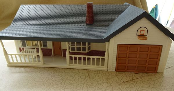 Farm Country Ranch Style Home 1 64 Ertl Country Farm Ranch Style Home Farm Toy Display