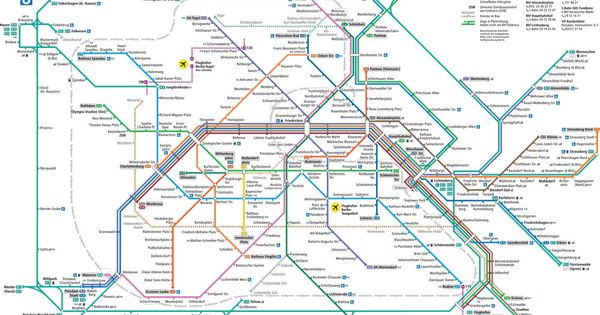 bvg berlin transit system train line map metadesign erik spiekermann sign design pinterest. Black Bedroom Furniture Sets. Home Design Ideas