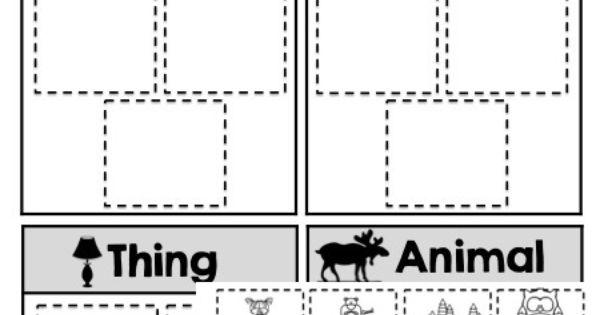 worksheets for kindergarden