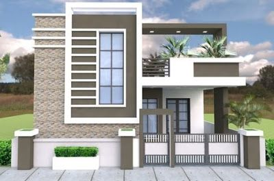 Exterior Wall Design Modern House Front Facade Design Ideas 2019 Duplex House Design Single Floor House Design Modern House Exterior