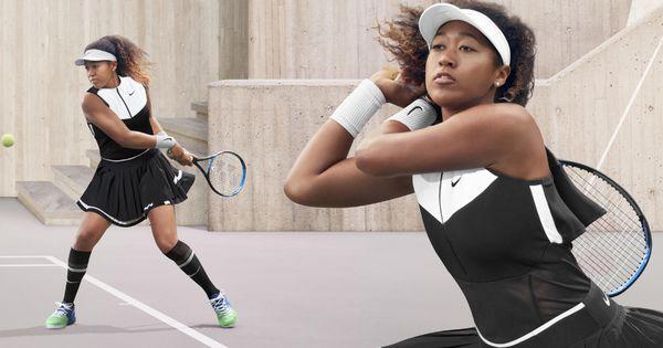 Naomi Osaka To Wear Exclusive Nikecourt X Sacai Apparel In Flushing In 2020 Nike Blazer Naomi Nike Images
