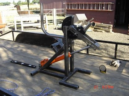 Homebuilt Tubing Bender Pirate4x4 Com 4x4 And Off Road Forum Metal Working Tools Metal Tools Welding And Fabrication