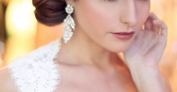 Stunning Bridal hair that's perfect for the big day. wedding bridal bride