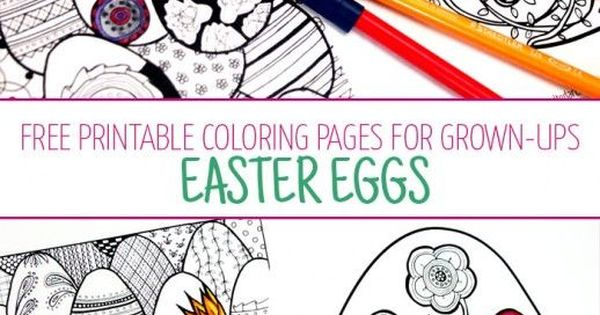 complex easter coloring pages - photo#34