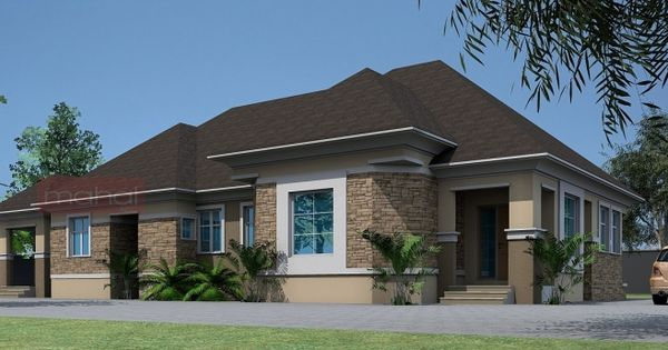 3 Bedroom Modern House Plans In Nigeria | Homes Beautiful ...