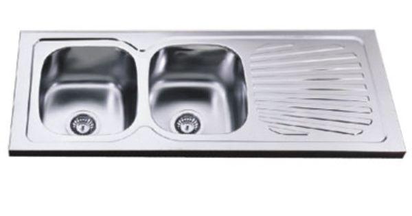 Double Drainboard Sink Sink Dish Drain Kitchen Sink Drainboard Sink