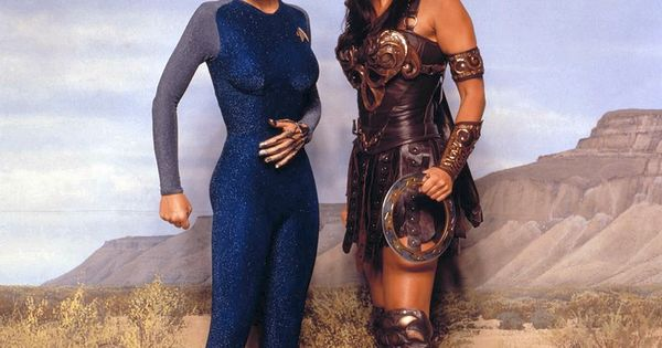 Nine of xena seven and