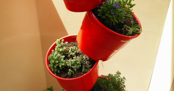 Actually pretty cool, good idea for an herb garden