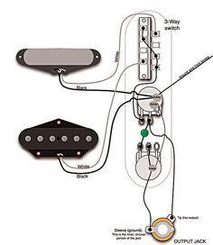 Mod Garage 50s Les Paul Wiring In A Telecaster Distortion Guitar Telecaster Diy Guitar Pedal