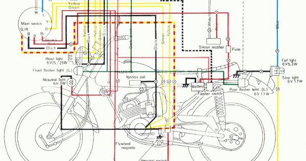 Yamaha Rs 4 Engine Diagram Xl Motorcycle Wiring Electrical Wiring Diagram Diagram