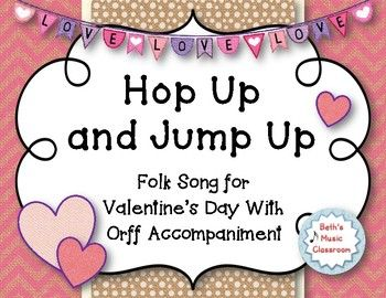 Hop Up And Jump Up A Shaker Folk Song Valentine S Day With