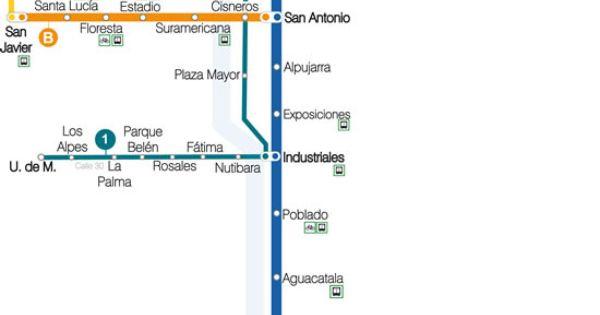 Medellin Metro Map Favorite Places Amp Spaces Pinterest