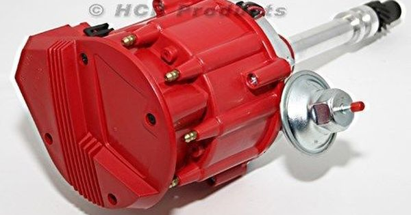 Sbc Chevy Performance Hei Distributor Red Cap Super Coil 305 350 400 Small Block Chevy Coil Ignition System