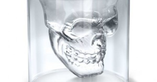 Fred and Friends Doomed: 'Crystal Skull' Shotglass: The crystal skull shot glass