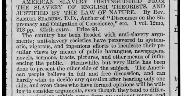 how is slavery justified Is slavery ever justified language religion in leviticus it states as for your male and female slaves whom you may have: you may buy male and female.