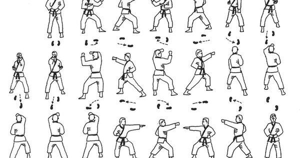 Dan Gun Yellow Belt Form Tae Kwon Do Pinterest
