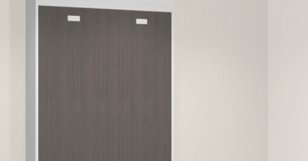 Teo armoire lit escamotable verticale 160 x 200 lit for Meuble porte coulissante verticale