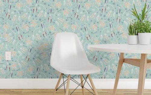 Sg01 Coastal Courtyard Transparent In 2020 Home Decor Textured Walls Perfect Wallpaper