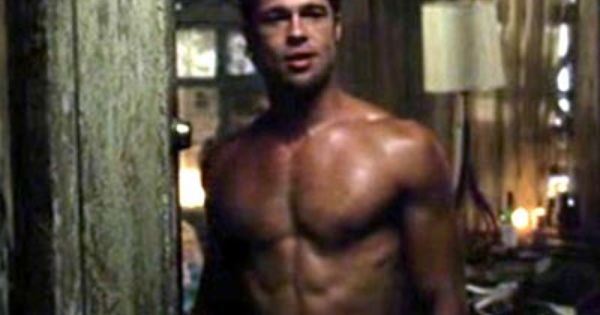 Latest Hollywood Hottest Wallpapers: Brad Pitt Abs Fight ...