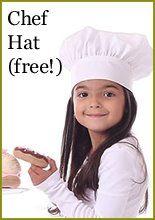 Child Chef Hat Pattern : child, pattern, Scientific, Seamstress, Kids,, Apron, Pattern, Free,, Chefs