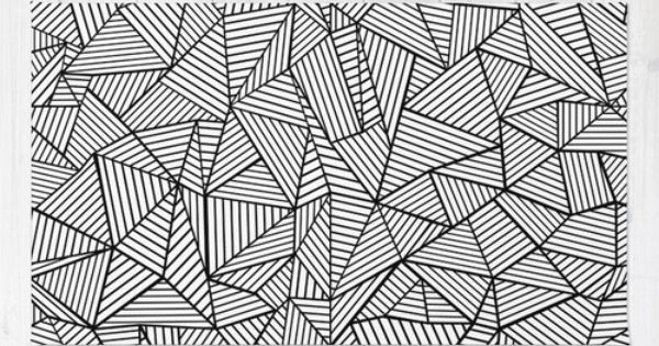 Abstraction Lines 2 Black And White Rug Abstract
