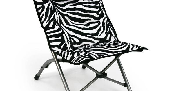 Zebra Folding Chair Camp Pinterest Discover More