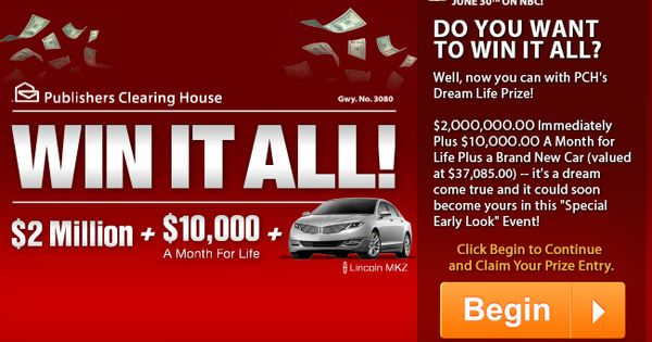 car sweepstakes and giveaways free online sweepstakes contests pch com projects to 343