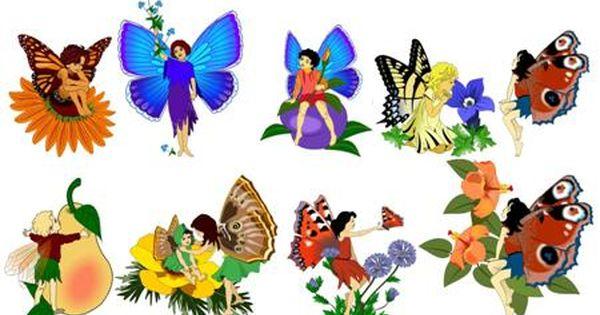 Printable Clipart Free Site Fairies Blossoms Flowers Frames Snails Scrapbook Printables Free Fairy Templates Free Clip Art