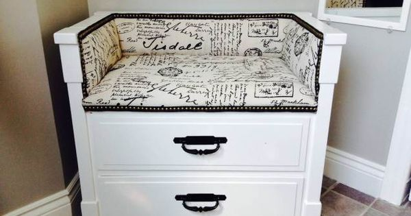 avant apr s transformer une commode en banc drawers benches and dressers. Black Bedroom Furniture Sets. Home Design Ideas