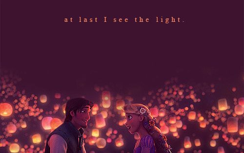 11 Gorgeous Tangled Gifs: At Last I See The Light :)