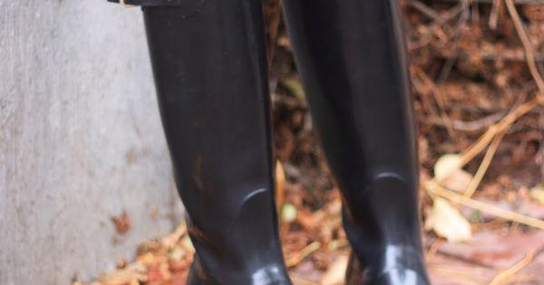 Hunter Boots original tall gloss hunter fashionblog fall Souvenirs de NY avec