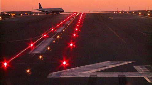 Red Airport Runway Lights Airport Design Airport International