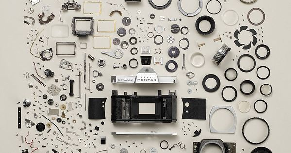 Old Camera (art), by Todd McLellan