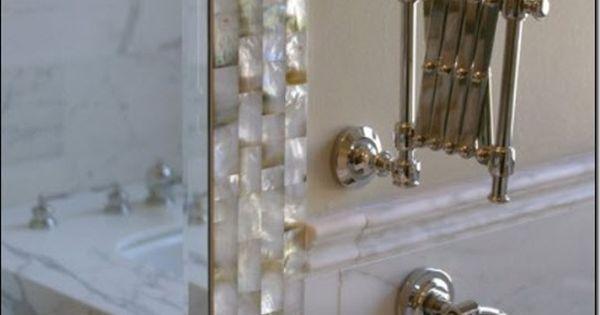 elegant bathroom traditional bathroom Beautiful frame for mirror