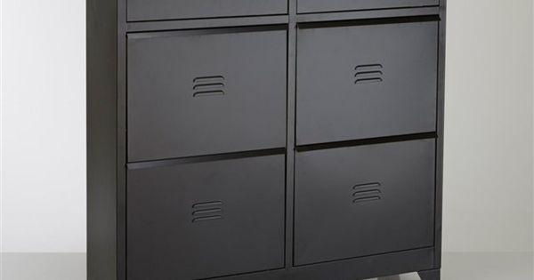 Meuble chaussures 4 tiroirs hiba la redoute interieurs prix avis notation livraison for Solde la redoute meuble